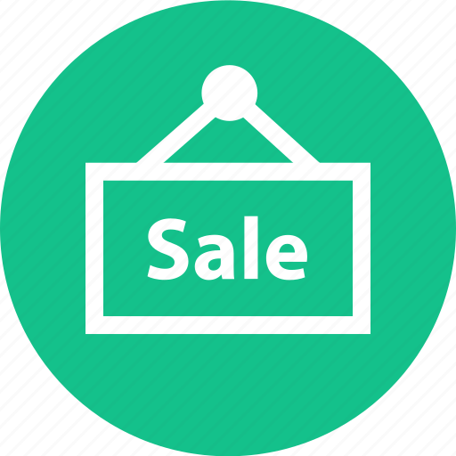 sale, shop, shopping, sign icon