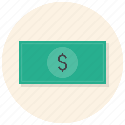 cash, dollar, finance, money, pay, payment, shop icon