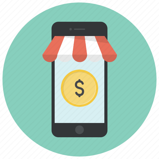 buy, dollar, money, online, phone, shop, shopping icon