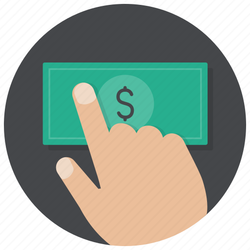 buy, cash, dollar, hand, money, pay, payment icon