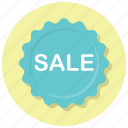 badge, campaign, discounts, sale, sale badge, shop, shopping icon