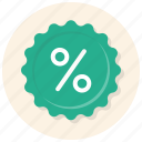 badge, campaign, discount, discount badge, percentage, price discount, sale icon