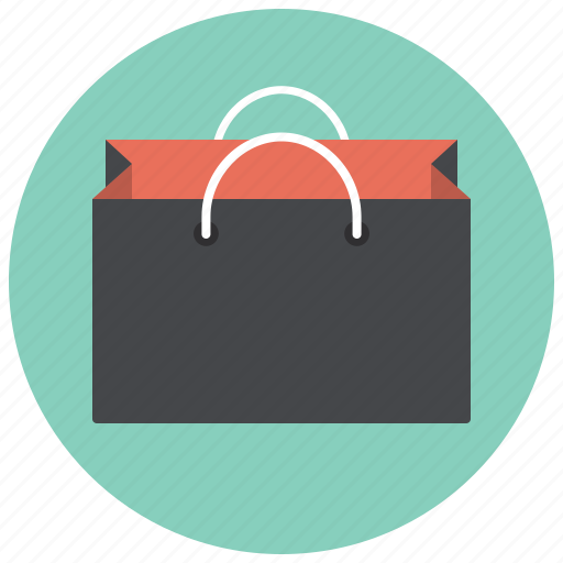 bag, giftbag, paper bag, paperbag, shop, shopping, shopping bag icon