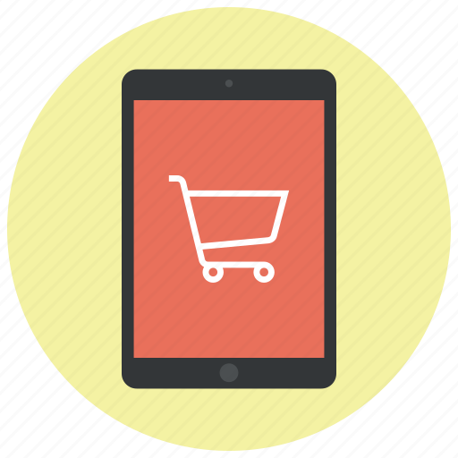 buy, cart, ecommerce, ipad, shop, shopping, shopping cart icon