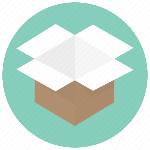 box, delivery, open, open box, order, ordering, package icon
