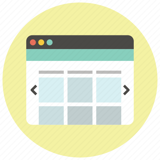 browser, ecommerce, homepage, online shop, portal, shop, webpage icon