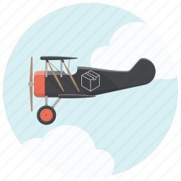 air delivery, cargo, courier, delivery, fast delivery, plane, shippment icon