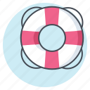 business, department, guard, help, lifebuoy, office, support icon
