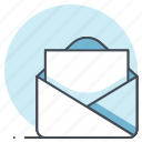 business, communication, envelope, letter, marketing, office, work icon