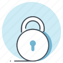 business, lock, padlock, protection, safety, security, work icon