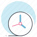 clock, job, manage, office, schedule, time, watch icon