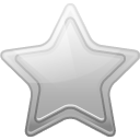 bookmark, favorite, silver, star icon