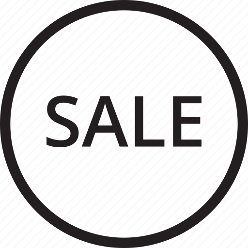 ecommerce, line, sale, shop icon