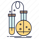 chemistry, flask, lab, science, testing icon