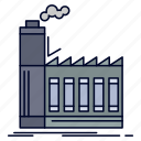 factory, industrial, industry, manufacturing, production icon