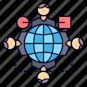 function, instruction, logic, meeting, operation icon