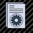 code, executable, file, running, script