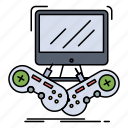 game, gaming, internet, multiplayer, online icon