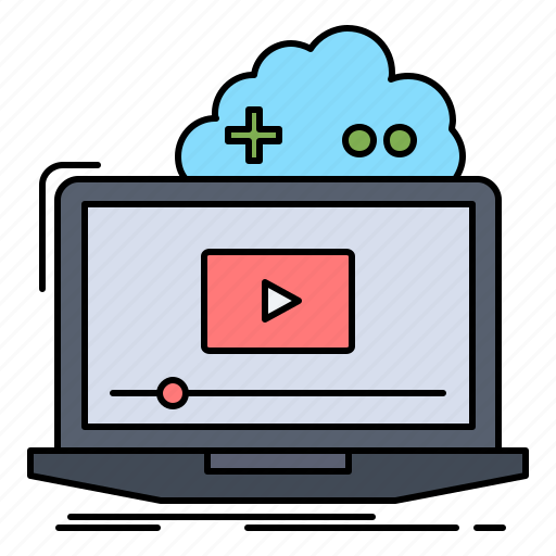Cloud, game, online, streaming, video icon - Download on Iconfinder