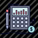 calculation, data, financial, investment, market