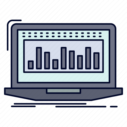 data, financial, index, monitoring, stock icon