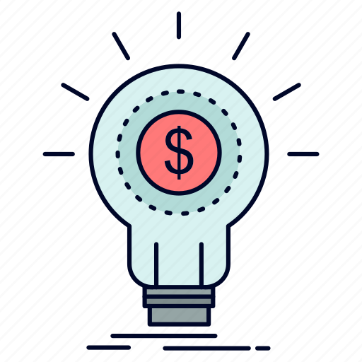 finance, financial, idea, money, startup icon