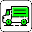 car, delivery, shipping, shopping, transport, truck icon