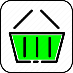 basket, cart, delivery, shopping, store icon