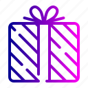box, gift, present, shopping icon
