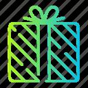 box, gift, present, shopping icon