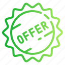 discount, offer, price, pricing, tag icon
