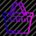 bag, cart, ecommerce, shopping icon
