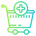 add, bag, cart, checkmark, complete, ecommerce, shopping icon
