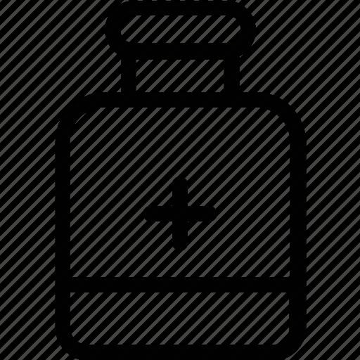 drugs jar, medication, medicine, medicine jar, rx icon