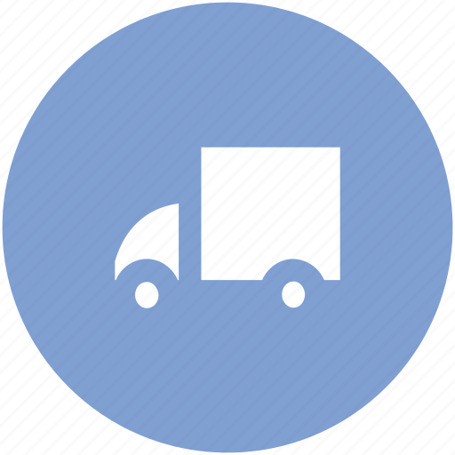 delivery service, delivery van, distribution, shipment, transport, vehicle icon