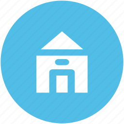 building, estate, house, hut, real, residence, villa icon