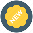 new, new product, sticker icon icon