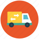 car, delivery, shipping, transportation, truck, vehicle icon icon