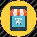 mobile, mobile shop, shop, shop app icon icon