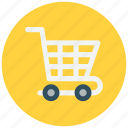 cart, commerce, shopping icon icon