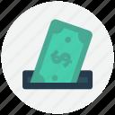 bank, cash, dollar, money, pay, shopping icon icon