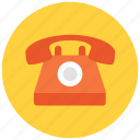 call, home, landline, number, phone, telephone icon icon