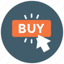 buy, click, shop, shopping icon icon