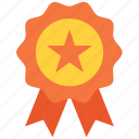 award, badge, medal, prize, reward, seal, winner icon icon