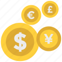 coins, money, save money, savings icon icon