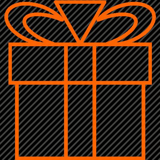 birthday, gift, surprise icon