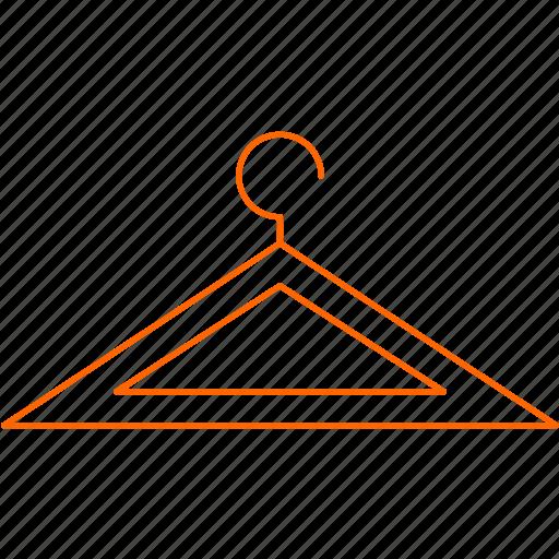 cloth, hanger, shop icon