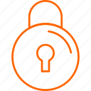 lock, secure, system icon