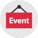 event, online, shop icon