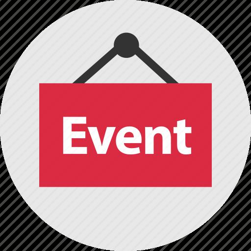 event, online, shop icon